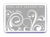Hero Arts Shadow Ink, Silver