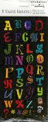 Variety Alphabet Scrapbook Stickers