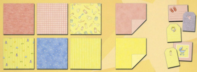 Sweet Baby Pastel 30cm x 30cm Scrapbooking Paper Collection