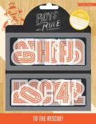 Crate Paper 105-Piece Boys Rule Plastic Letters