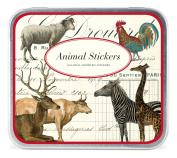 Cavallini Decorative Stickers Animals, Assorted