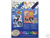 16 Childhood Papers Scrapbooking Scrapbook