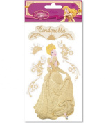 Disney Enchanted Tales Dimensional Gold Stickers-Cinderella