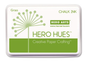 Hero Arts Rubber Stamps Chalk Ink, Grass