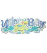 Jolee's Boutique A Day At The Beach Title Wave Stickers-Water Baby