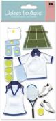 Le Grande Dimensional Stickers-Tennis