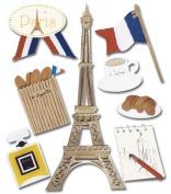 Jolee's Boutique Paris Stickers