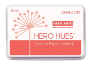 Hero Arts Rubber Stamps Chalk Ink, Punch