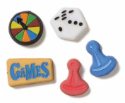 Games Keepsake Brads for Scrapbooking