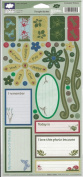 Max's Backyard Nature Tags Cardstock Scrapbook Stickers