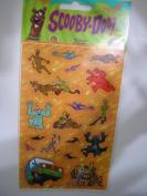 Scooby Doo Halloween Theme Scrapbook Stickers