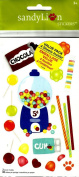 GUMBALL MACHINE, LOLLY POPS, CHOCOLATE AND SUCKERS STICKERS