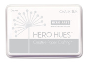 Hero Arts Rubber Stamps Chalk Ink, Snow