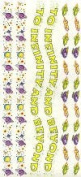 Disney Toy Story Buzz Lightyear Borders Scrapbook Stickers