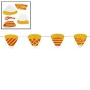 Candy Corn Banner Craft Kit - Crafts for Kids & Decoration Crafts