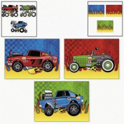 Make-A-Race Car Sticker Scenes - Kids' Stationery & Stickers