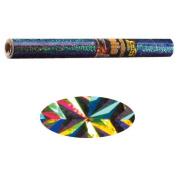 Holographic Mylar- Magic Silver 40cm x 100cm Roll