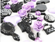 20pc Different Styles of Resin Flatback Decals