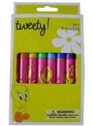 Looney Tunes Tweety Bird Markers -8pcs Set Marker