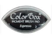 ColorBox Classic Pigment Cat's Eye Ink Pads, Espresso