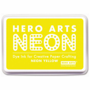 Hero Arts Neon Ink Pad-Yellow