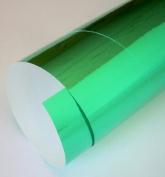Mirriwrap Mirror Surface Paper- Green 50cm x 70cm Sheet
