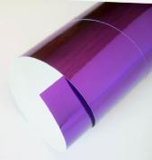Mirriwrap Mirror Surface Paper- Purple 50cm x 70cm Sheet
