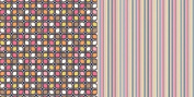 GCD Studios - Animal Crackers Paper - Cube Leaf Design -12 x 12 Paper - 12 Sheets