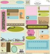 Reagan's Closet Chipboard Tags, Titles and Frames for Scrapbooking