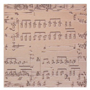 Spellbinders MT1-010 Music Texture Plate for Scrapbooking