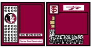 UNIFORMED Florida State University 2-Page Layout Decorative Paper, 30cm by 30cm
