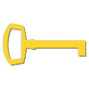 Accucut Zip'eCut Die - Hardware Keys #3