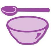 Accucut Zip'eCut Die - Family Preserves - Mixing Bowl & Spoon