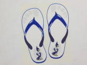 Creighton Bluejays Sandals Decal