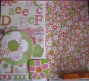 Flower Scrapbook Kit // Pebbles Inc