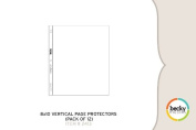 Project Life by Becky Higgins 8 x 10 Page Protectors - Vertical