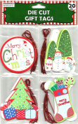 CHRISTMAS ALPHABET STICKERS (1 PACK) GREEN NUMBERS