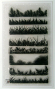 Grass and Fern Borders Clear Stamps Set