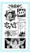 Jesus Born on this Day // Christmas Clear stamps pack (10cm x 18cm ) FLONZ