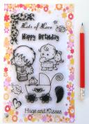Babies // Clear stamps pack (10cm x 18cm ) FLONZ