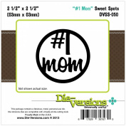 Die-Versions Sweet Spots Die-#1 Mom, 6.4cm x 6.4cm