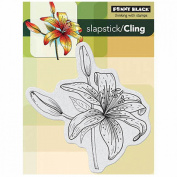 Penny Black Cling Rubber Stamp 10cm x 15cm Sheet-Tiger Lily