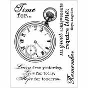 Technique Tuesday Clear Stamps 7.6cm x 10cm -Chronology