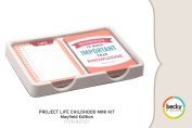 Project Life by Becky Higgins Childhood Mini Kit - Mayfield Edition