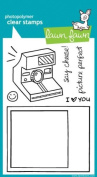 Lawn Fawn Clear Stamps 10cm x 15cm -Say Cheese