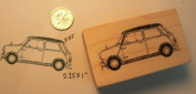 Mini Cooper Rubber Stamp