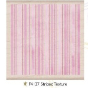 Striped Texture Wood Mounted Rubber Stamp