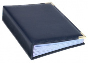 Pioneer Oxford Brass Corner Series Sewn Album, Navy Blue