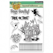 Penny Black Hunted Halloween Transparent Stamps