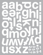 Momenta Design Your Own Sticker, Emma Large Lowercase